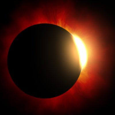 éclipse solaire et nouvelle lune
