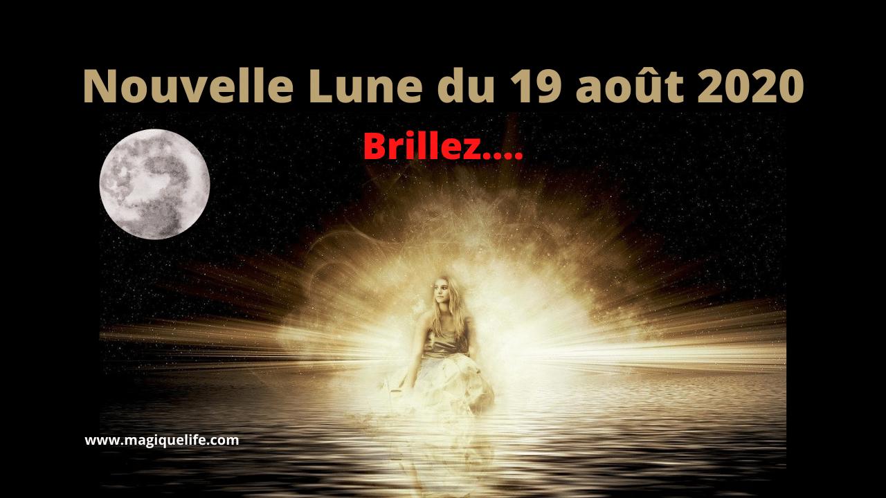 Nouvelle Lune du 19 août 2020