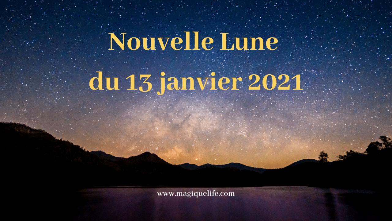 Nouvelle Lune du 13 janvier 2021