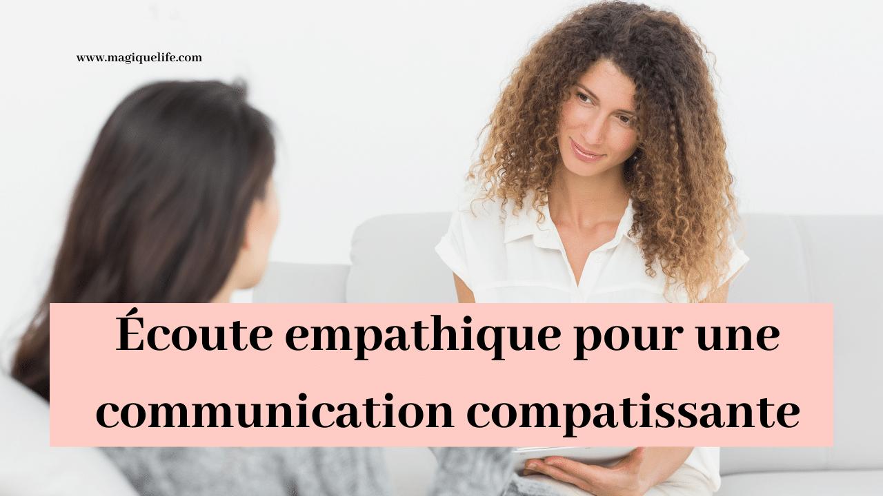 Écoute empathique
