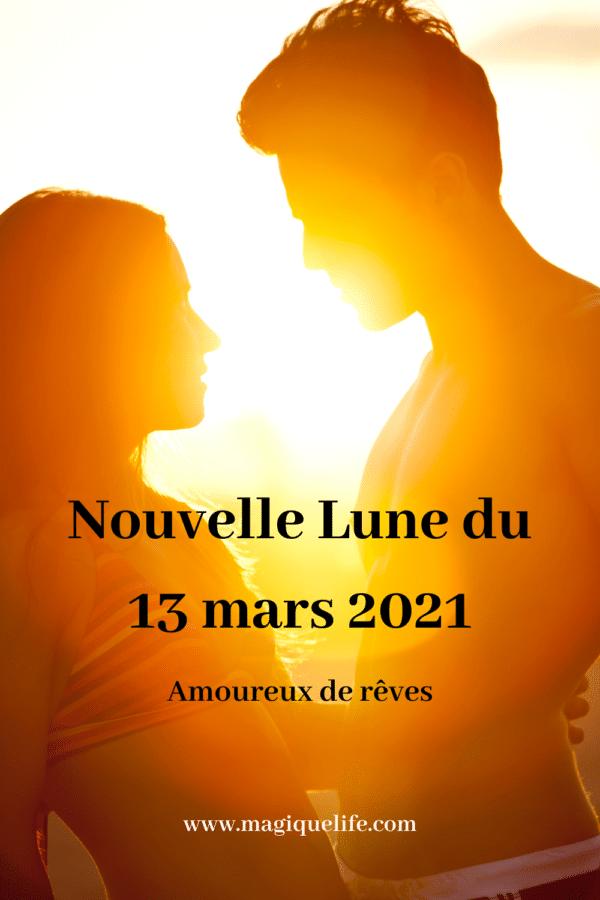 Nouvelle lune du 13 mars 2021