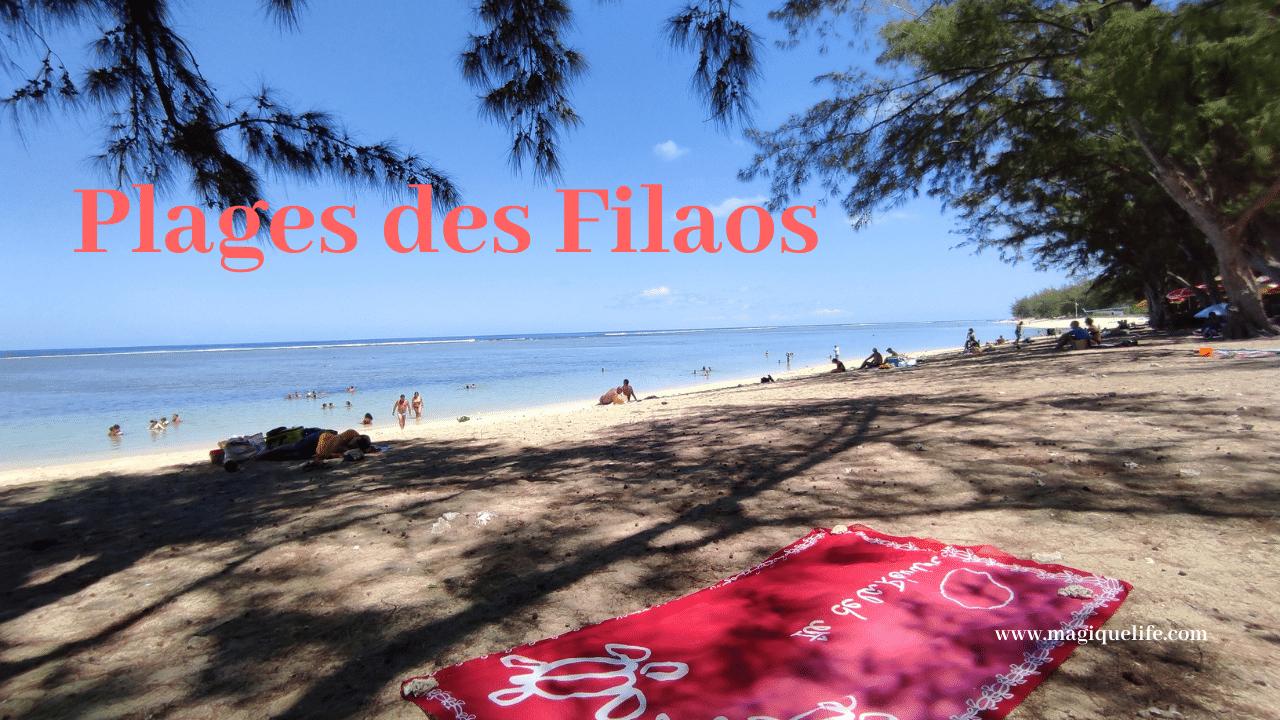 Plage des Filaos, la Saline les Bains